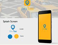 UI/UX design , App WiniTaxi 1.0
