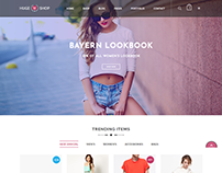 HugeShop - Multi-Purpose eCommerce Bootstrap 4 Template