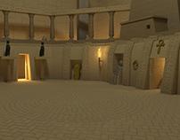 Arena model. Gladiator Heroes (Genera Games)
