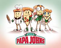 Papa John y sus pizzas