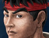 Fan Art: Ryu
