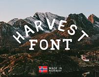Harvest Font
