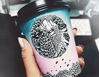 BioPak Cup Art Series - Design