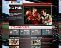 Sports News Website on WebsiteBuilder