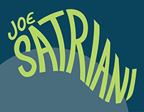 Joe Satriani Tour Posters