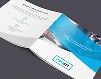 ProBiz – Business & Corporate Portfolio Bi-Fold Square