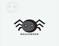 Hallowen spider