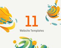 Website Templates / Set #1