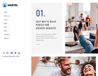Services Page - Marvel WordPress Theme