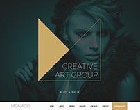 Monaco - Creative Bootstrap 3 Template