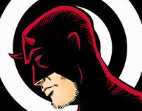 Daredevil quick drawings.