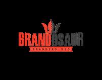 Brandosaur logo