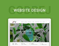 Godrej Group Corporate Website Design