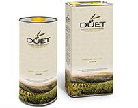 Düet olive oil package design
