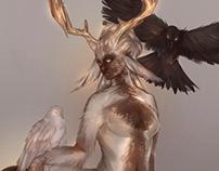 Character Design: Deertaur