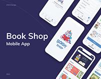 BookShop - Mobile application concept