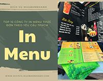 Top 10 cong ty in thuc don menu TPHCM VietNamPrinting
