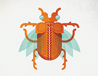 Exotic Pompeii Collection | Fantasy Insects