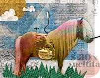 Multicoloured Pony | Collage