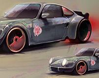 Ultimate Porsche - Digital Art