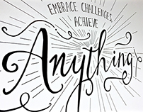 ANYTHING - Mural
