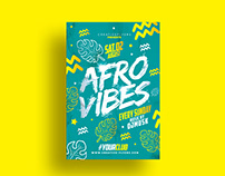 Afro Style Flyer Template