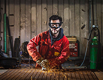 Littlehampton Welding Portraiture