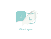 Blue lagoon branding