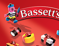 Basset's Allsorts Christmas 3D Illustration