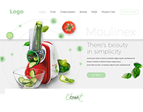 Vegetable Slicers - Web Design
