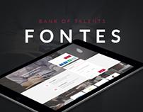 Fontes - Bank of Talents