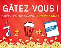 """Campagne """"Combo alimentaire"""" - Le Superclub Vidéotron"""