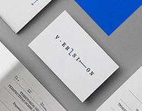 Version. Brand identity