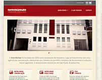 Entrelinhas - Responsive Website