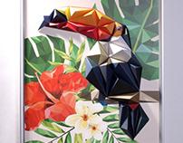 Tocotucan 3D Pop-up Poster