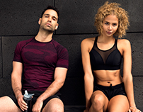 'ACTIVE WEAR COLLECTION LOOKBOOK'