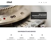 Clout Multipurpose Website Concept