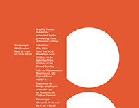 Graphic Design Vernissage