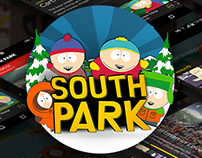 SouthPark Android App Redesign