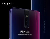 OPPO F11 Pro webdesign