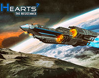 "Artwork from ""Hearts7 - the resistance "" serie."