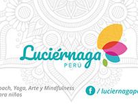 Tarjetas personales para Luciernaga