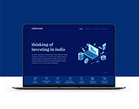Corpcode Website Redesign