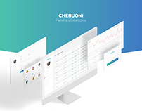 CheBuoni Panel / Dashboard Minimal Redesign
