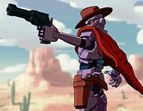 Robot Gunslinger