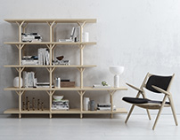 REED SHELVING SYSTEM
