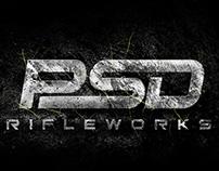 PSD Rifleworks logo design