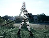 Dark Elf Female, игра Lineage II Сosplay