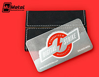 Completely Custom Stainless Steel Metal Business Card