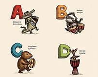 ABCs – Animals Playing Instruments